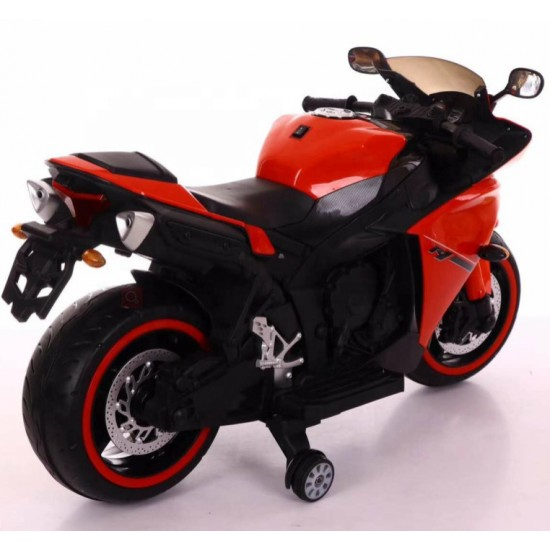 BuyFacturer Kids R15 battery operated Electric Bike (red)