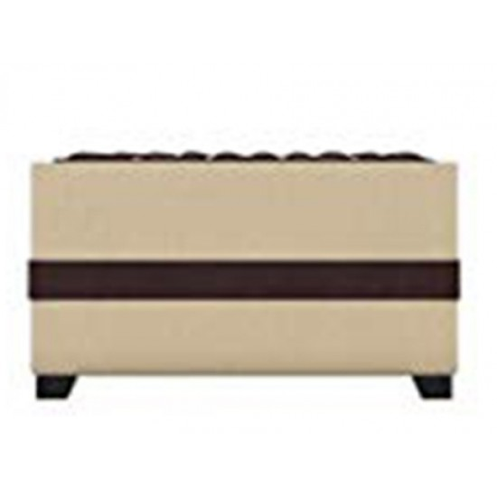 Torque - Jamestown Fabric Coffee Table/Centre Table/Tea Table for Living Room |Brown