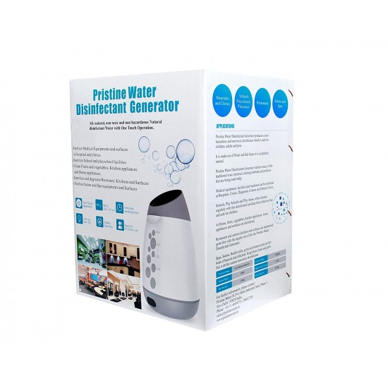 Pristine Water Home Disinfectant Generator | Home Sanitizer