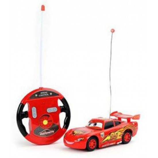 MCQUEEN STYLISH 4 FUNCTION REMOTE CAR- FAST SPEED  (Red)